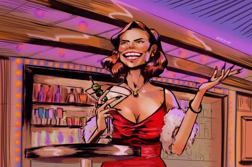 Drinks On Me by Jane P